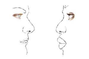 Ontspannen oogcontact verbindt en versterkt je relatie. Het is intiemer dan woorden ooit kunnen zijn.